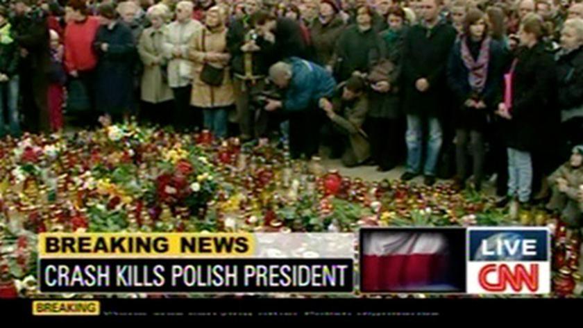 Smoleńska katastrofa - tym żyły 10 kwietnia światowe media