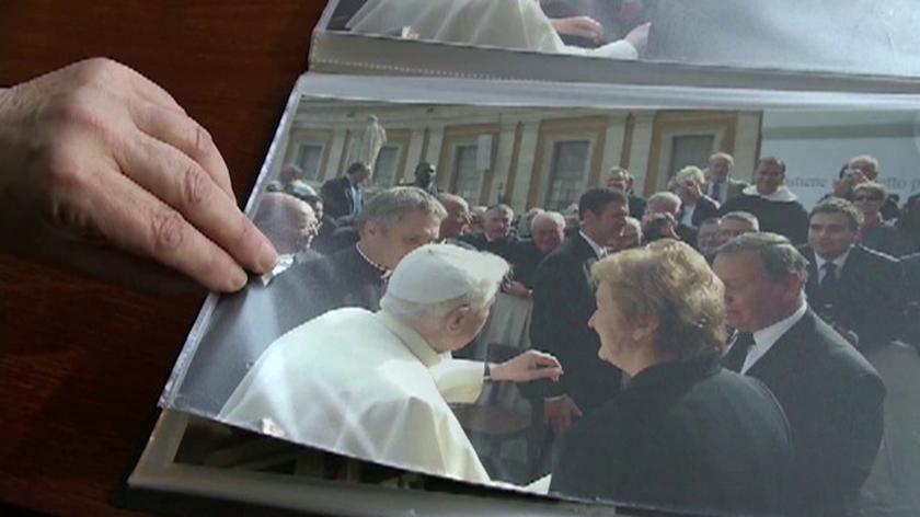 Spotkanie z papieżem pomogło przetrwać ciężkie chwile
