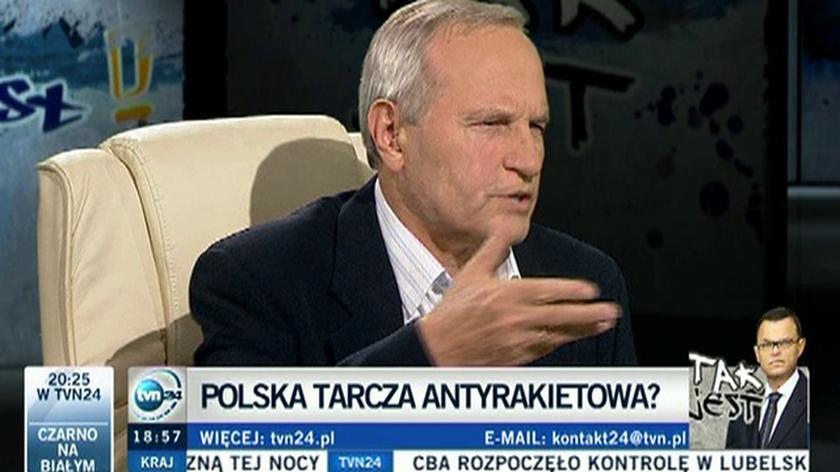 Stanisław Koziej: pieniądze na tarczę muszą się znaleźć