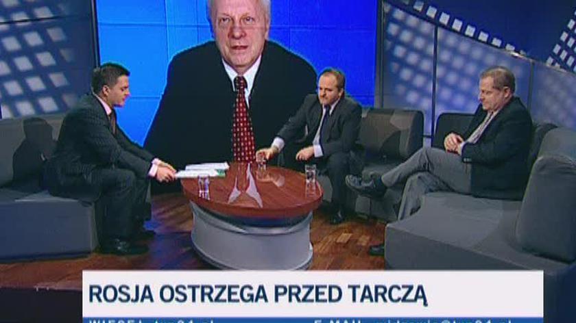 Stefan Niesiołowski o amerykańskich bazach w Polsce (TVN24)