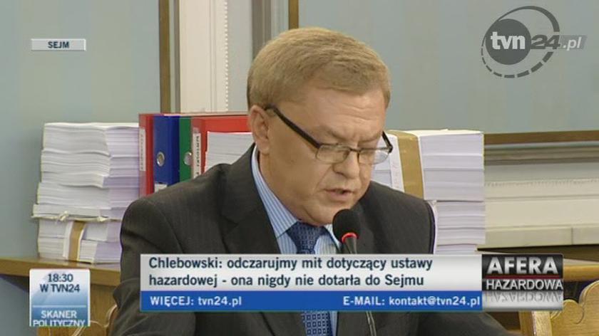 """""""To, co uczynił podczas przesłuchania przed komisją Kamiński, przekracza granice absurdu""""/TVN24"""