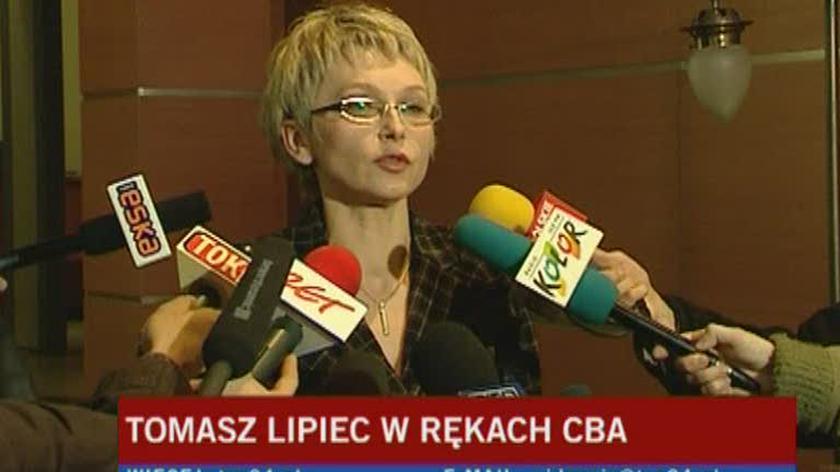Tomasz Lipiec został zatrzymany przed południem przez Centralne Biuro Antykorupcyjne