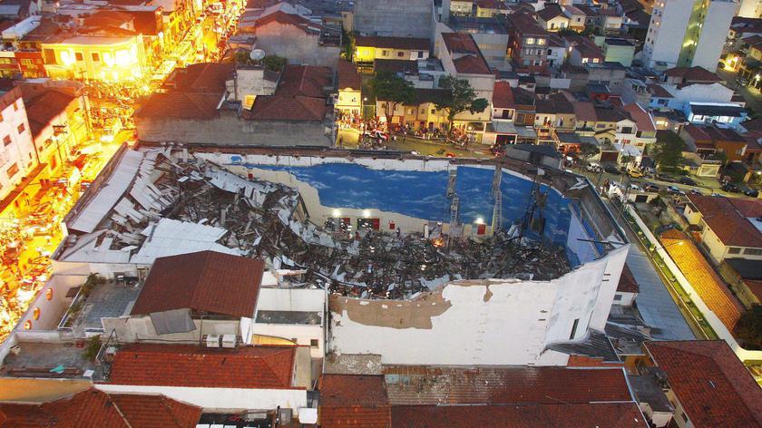 W Sao Paulo w Brazylii dach kościoła zawalił się na wiernych