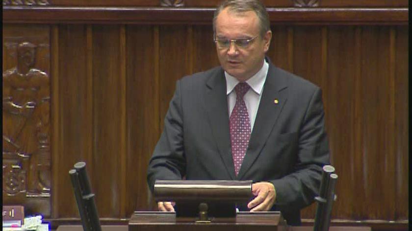 Waldemar Pawlak (PSL): wciska się ten zielony przycisk