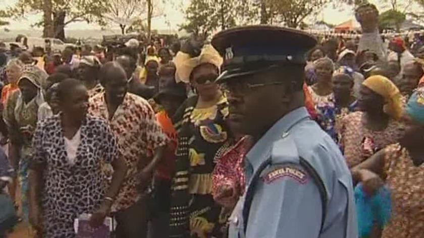 Z inauguracji Obamy cieszą mieszkańcy Kenii, kraju jego ojca