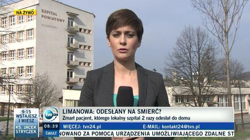 Zmarł pacjent, którego szpital w Limanowej dwa razy odesłał do domu