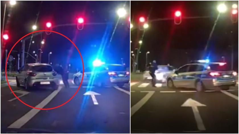 Niebezpieczny pościg ulicami Gdańska