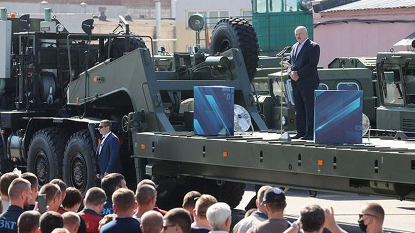 """Łukaszenka: Dziękuję, powiedziałem już wszystko, możecie teraz krzyczeć """"odejdź"""""""