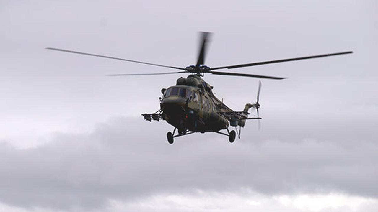 Katastrofa Mi-8 na Czukotce.