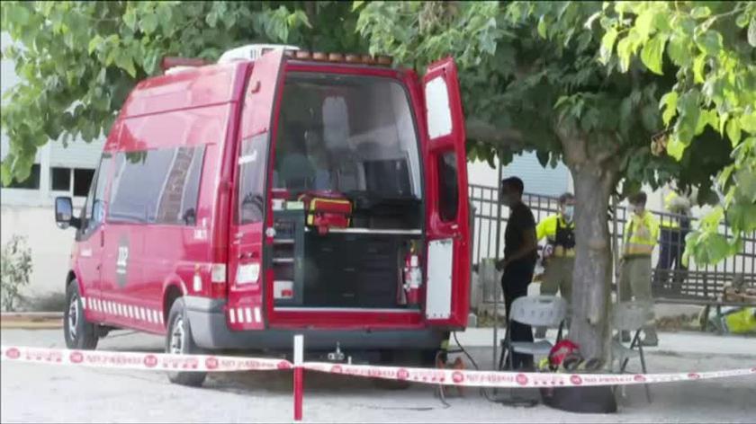 Strażacy opanowują pożar w La Pobla De Massaluca