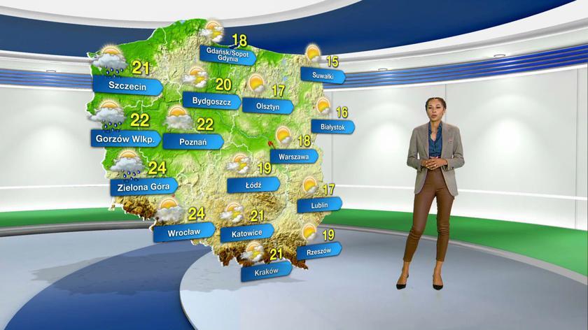 Prognoza pogody na poniedziałek 27.09