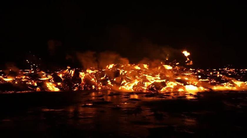 Film z erupcji Fagtadalsfjall 3