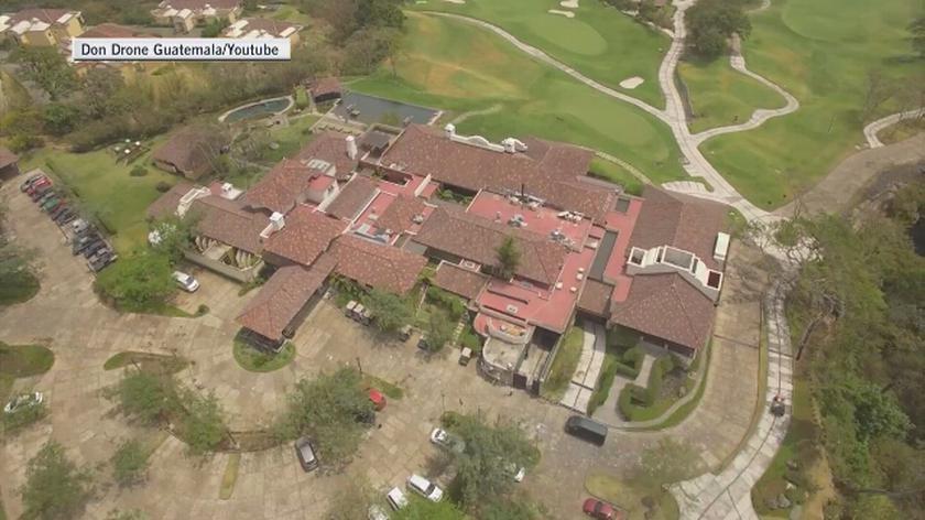 Hotel La Reunion w 2016 roku (Don Drone Guatemala)