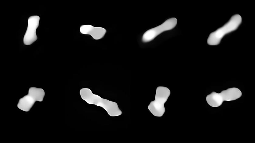 Położenie asteroidy Kleopatra w Układzie Słonecznym