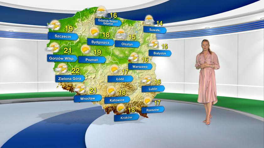 Prognoza pogody na niedzielę