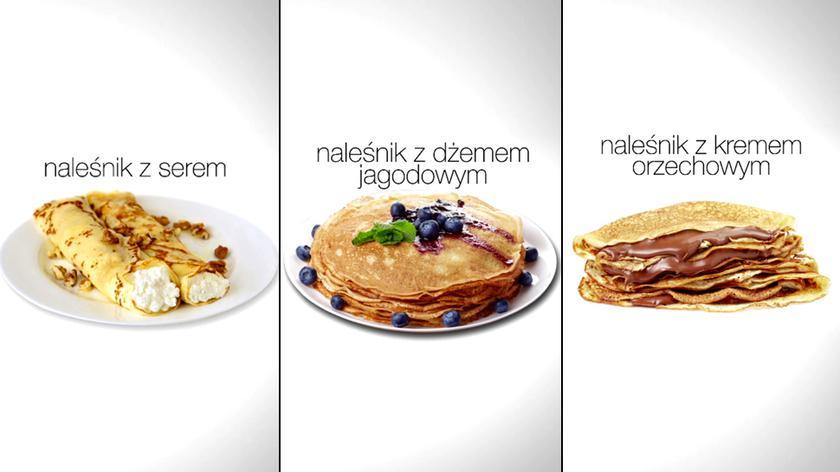 Ile kalorii mają naleśniki?