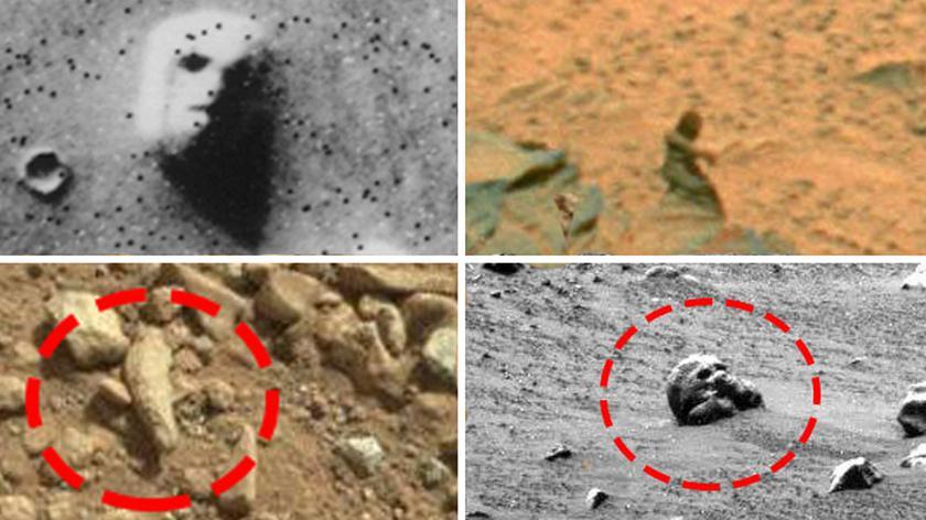 10 śladów życia na Marsie? Zobacz niezwykłe fotografie, które wykonały marsjańskie łaziki