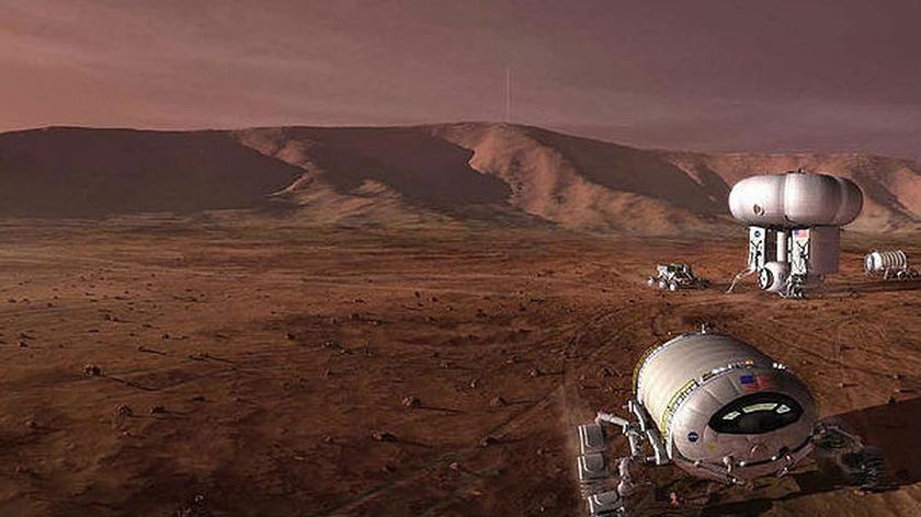Kolonia na Marsie, jaką być może założą członkowie Mars One (Mars One)