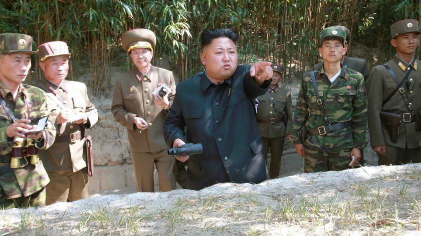 Katastrofa na poligonie nuklearnym w Korei Północnej