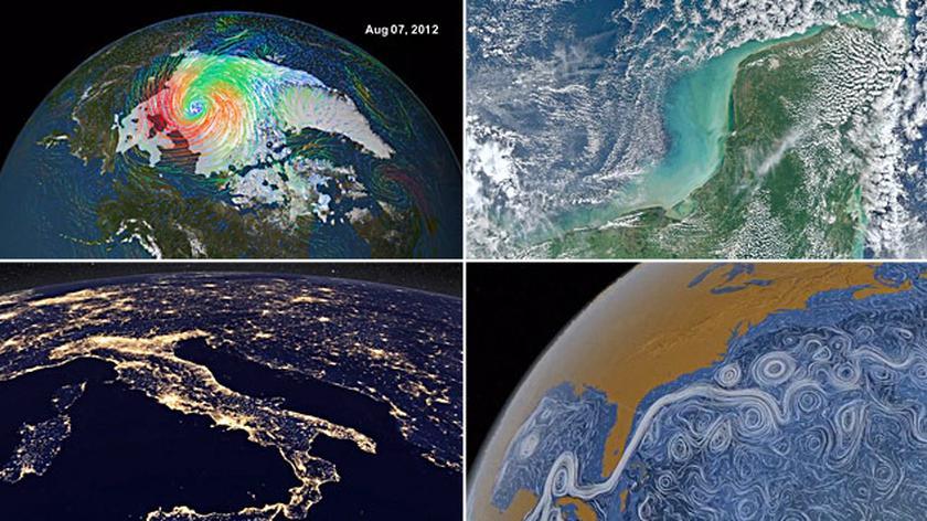 Najlepsze satelitarne widoki Ziemi z 2012 roku (NASA)