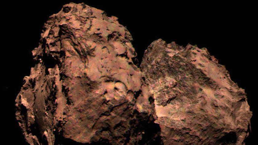 Historyczne lądowanie na komecie