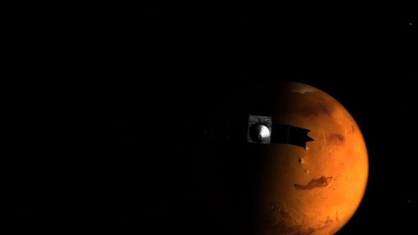 Sztuczny satelita dotarł do orbity Marsa
