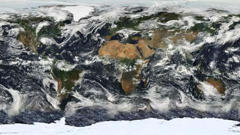 Wyniki opracowań danych satelitarnych naszej planety
