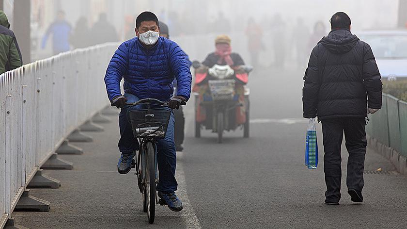 Tak wygląda smog z lotu ptaka (Uniwersytet Śląski w Katowicach)