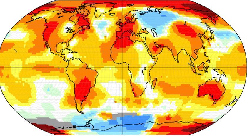 Wrzesień z rekordowo wysoką temperaturą. Rok 2014 będzie najcieplejszym w historii?
