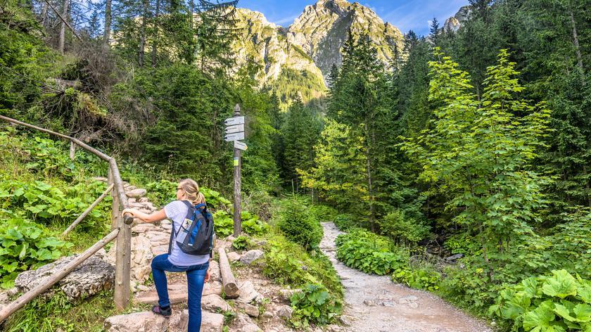 Szlaki w Tatrach są oblegane przez turystów