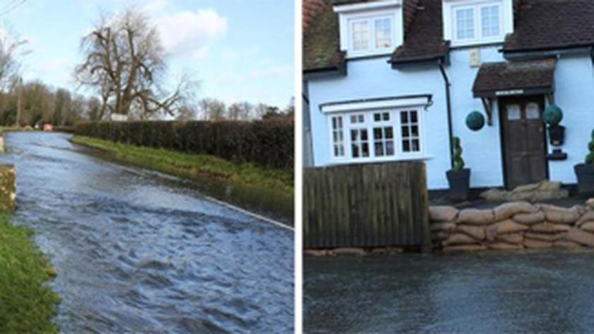 Wielka Brytania pod wodą