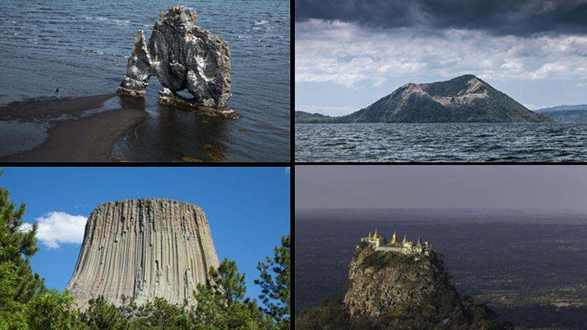 Niezwykłe krajobrazy wulkaniczne