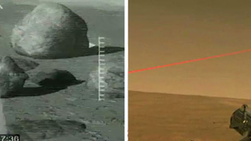 Curiosity po raz pierwszy wykorzystał laser (Los Alamos National Lab)