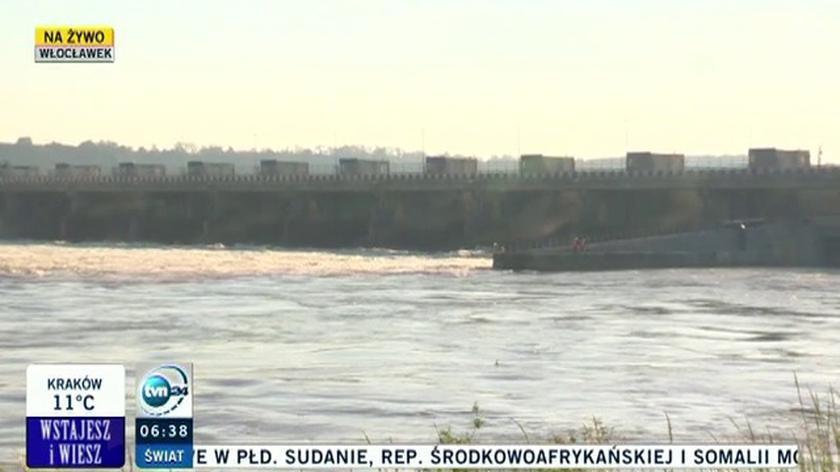 Fala powodziowa dotarła do Wyszogrodu. Mariusz Sidorkiewicz o aktualnej sytuacji hydrologicznej w kraju