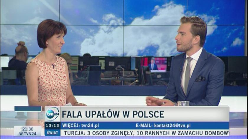 Fala upałów w Polsce