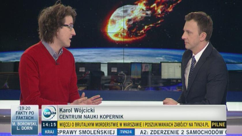 Karol Wójcicki o wydobywaniu surowców z asteroid