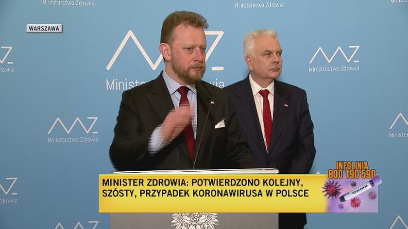 """""""Stopień ryzyka będzie zmieniał się w zależności od ilości przypadków w Polsce"""""""
