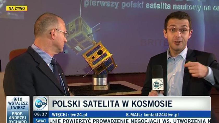 """""""Udało się, satelita jest teraz na zaplanowanej orbicie"""""""