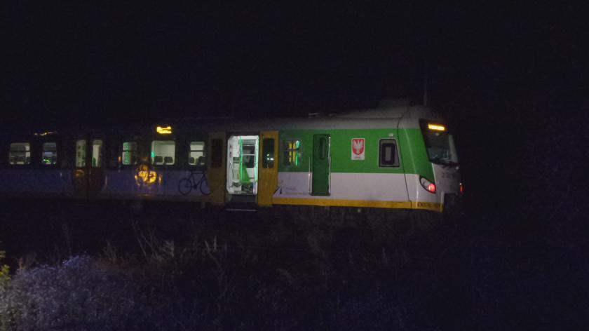 Pociąg potrącił człowieka w okolicach Dworca Wileńskiego