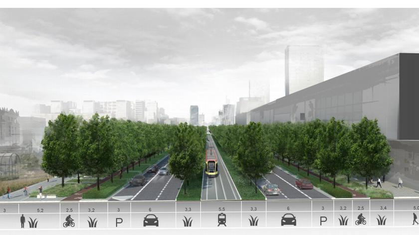 W 2021 roku ruszy budowa ścieżki rowerowej na Marszałkowskiej (wideo arichiwalne)