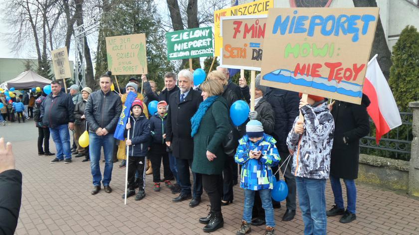 Protest w Wieliszewie