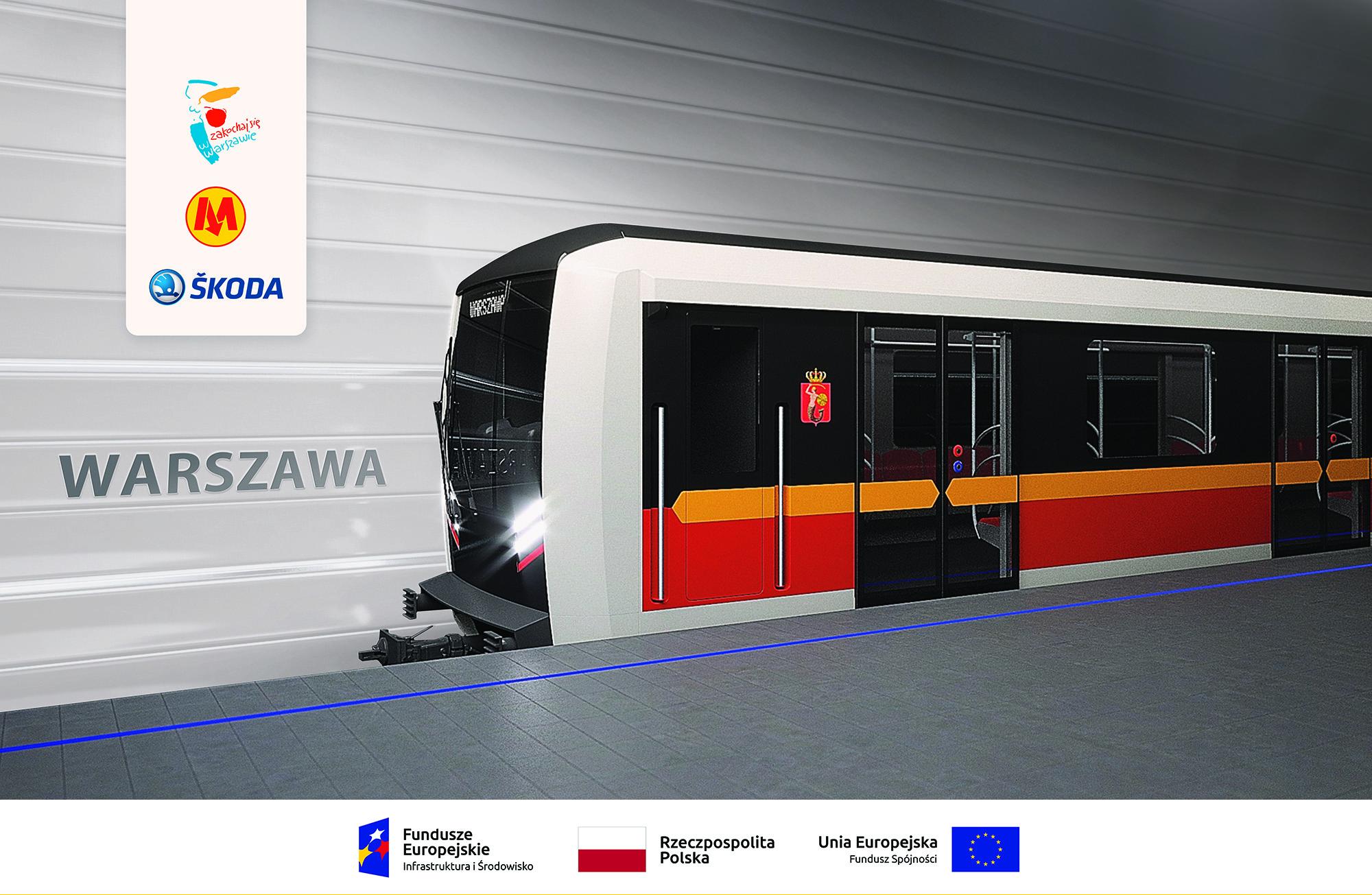 Warszawa. Rozstrzygnięcie konkursu na nazwę nowych pociągów metra. Wygrała  Varsovia | TVN Warszawa