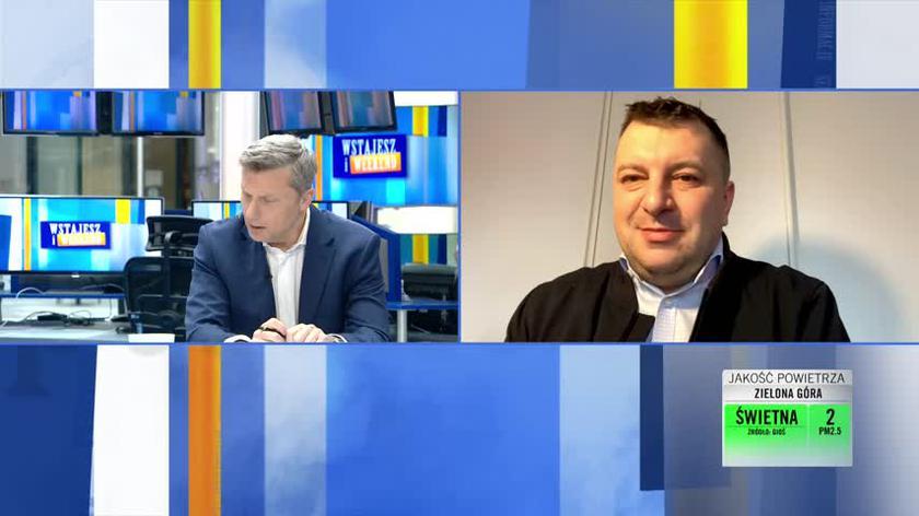 Dr Artur Zaczyński o sytuacji w Szpitalu Narodowym