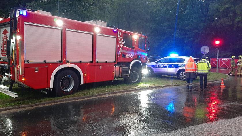 Śmiertelny wypadek na DK79 w Pilawie