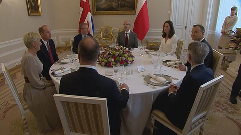Śniadanie w Pałacu Prezydenckim