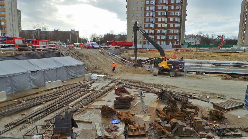 Śmiertelny wypadek na budowie drugiej linii metra