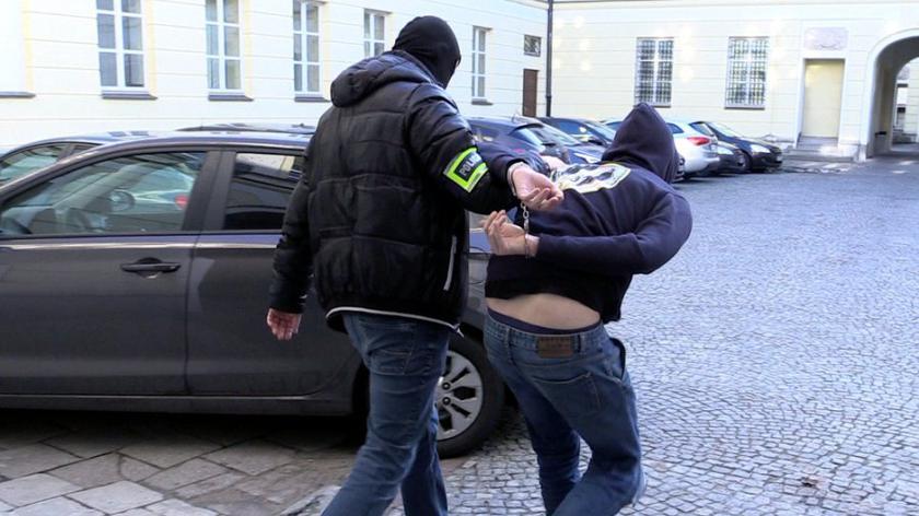 Policjanci zatrzymali Jana S. w Milanówku