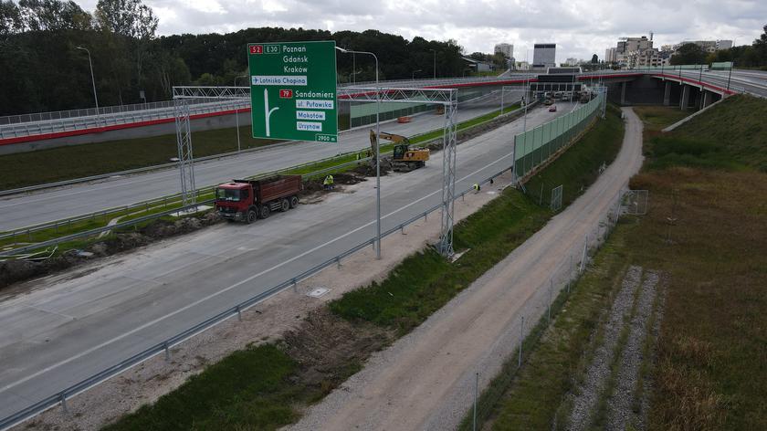 GDDKiA: tunel POW pod Ursynowem zostanie otwarty jesienią