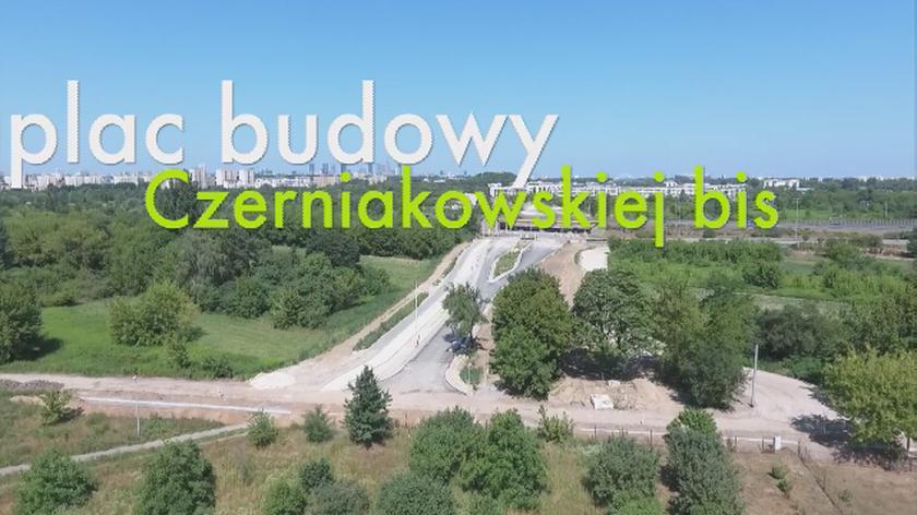 Odcinek przy Trasie Siekierkowskiej