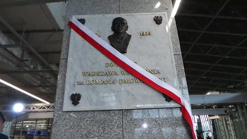 Dworzec Wschodni imienia Romana Dmowskiego